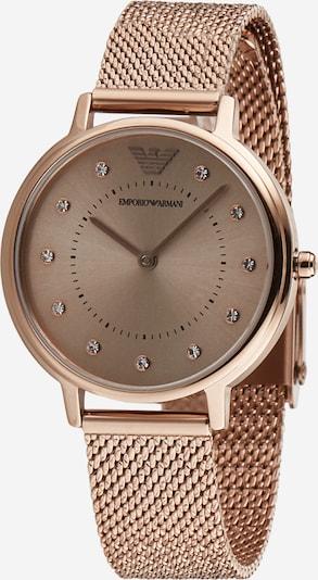 Emporio Armani Zegarek analogowy w kolorze różowe złotom, Podgląd produktu