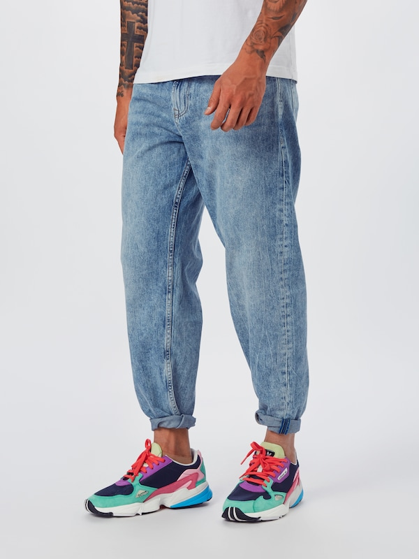 TOM TAILOR DENIM Jeans in blue denim, Modelansicht