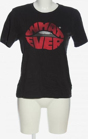 America Today T-Shirt in S in rot / schwarz, Produktansicht