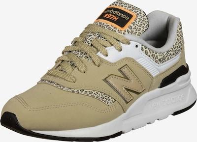 Sneaker low '997' new balance pe bej / portocaliu / negru / alb, Vizualizare produs