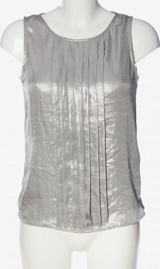 ANNE KLEIN ärmellose Bluse in S in silber, Produktansicht