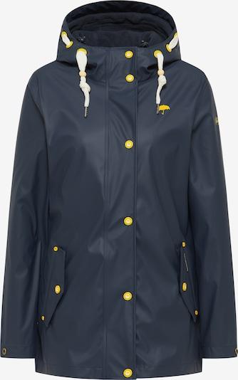 Schmuddelwedda Jacke in marine / gelb / weiß, Produktansicht