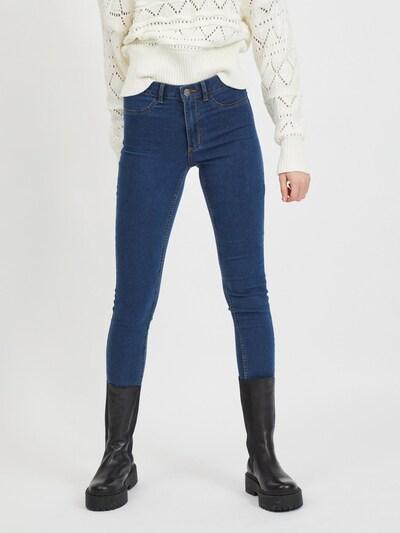 VILA Jeggings 'Ana' en bleu denim, Vue avec modèle