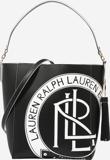 fekete / fehér Lauren Ralph Lauren Shopper táska 'ADLEY', Termék nézet