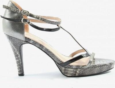 Patrizia Dini by heine High Heel Sandaletten in 40 in hellgrau / schwarz, Produktansicht
