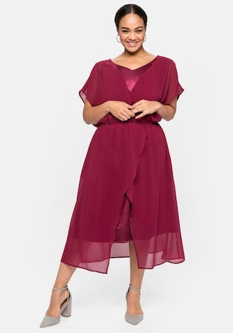 SHEEGO Cocktail Dress in Pink