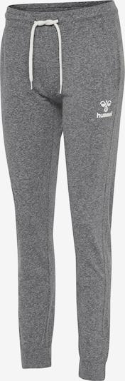 Hummel Pants in grau / weiß, Produktansicht