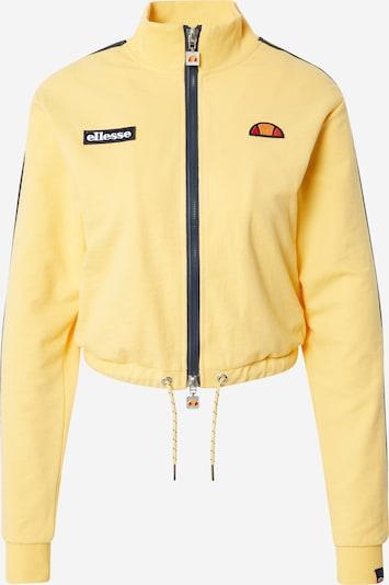 ELLESSE Bluza rozpinana 'Laboria' w kolorze żółty / czarnym, Podgląd produktu