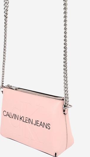 Calvin Klein Jeans Torba preko ramena u roza / srebro, Pregled proizvoda