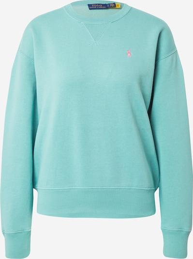Polo Ralph Lauren Μπλούζα φούτερ σε γαλαζοπράσινο / ρόδινο, Άποψη προϊόντος
