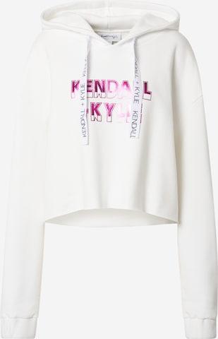 KENDALL + KYLIE Sweatshirt in Weiß