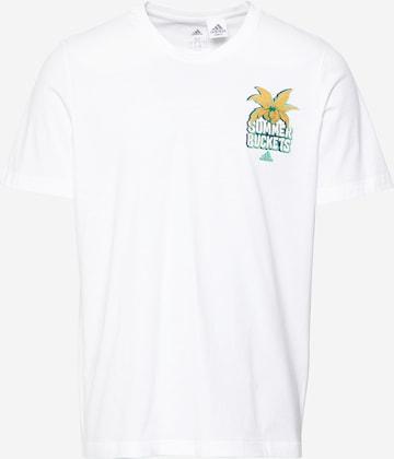 ADIDAS PERFORMANCE Performance Shirt 'SUMMER BCKT' in White