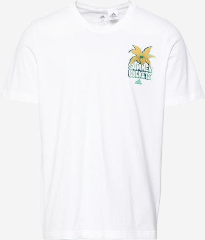 ADIDAS PERFORMANCE Shirt 'SUMMER BCKT' in weiß, Produktansicht