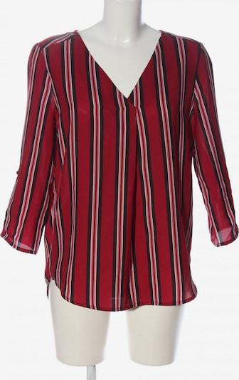Jennyfer Schlupf-Bluse in S in rot / schwarz, Produktansicht