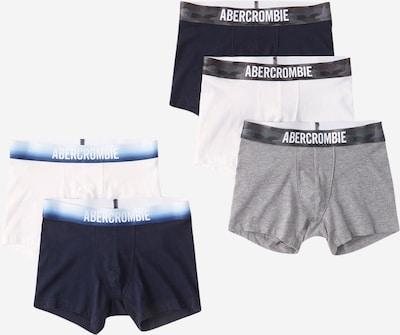 Abercrombie & Fitch Boxershorts in navy / grau / weiß, Produktansicht