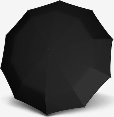 Doppler Regenschirm in schwarz, Produktansicht