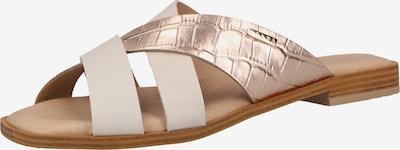 SCAPA Pantolette in rosegold / weiß, Produktansicht