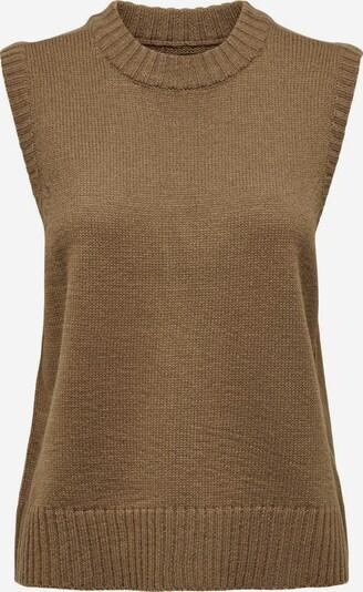 ONLY Pullover in braun, Produktansicht