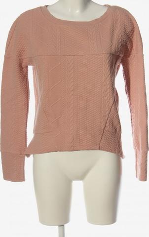 OBJECT Sweatshirt & Zip-Up Hoodie in S in Brown