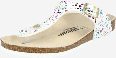 BIRKENSTOCK Sandale 'Gizeh' u miks boja / bijela, Pregled proizvoda
