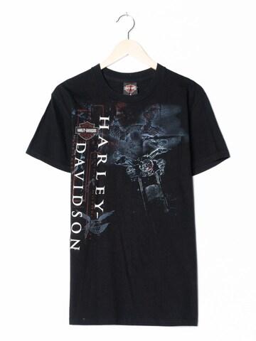Harley Davidson T-Shirt in M-L in Schwarz