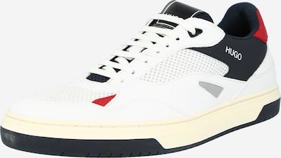 HUGO Nízke tenisky - červená / čierna / biela, Produkt