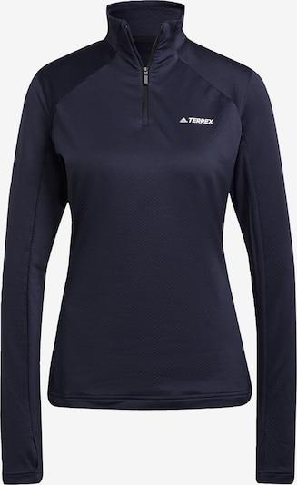 ADIDAS PERFORMANCE Jacke in dunkelblau / weiß, Produktansicht