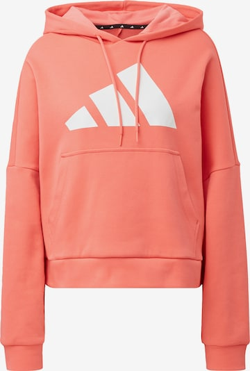 ADIDAS PERFORMANCE Sportief sweatshirt in de kleur Oranjerood / Wit, Productweergave