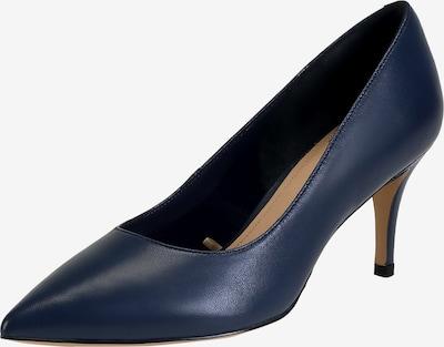Ekonika Elegante Pumps aus echtem Leder in blau: Frontalansicht