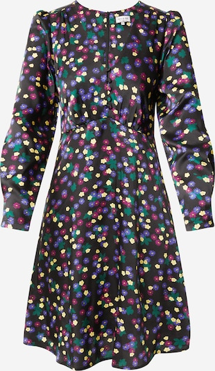 PAUL & JOE Kleid 'BIBICHE' in gelb / jade / dunkellila / schwarz, Produktansicht
