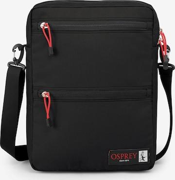 Osprey Sporttasche 'Musette' in Schwarz