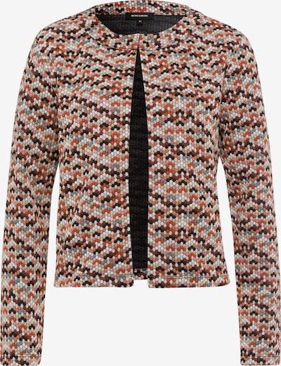 MORE & MORE Jacke in beige / blau / braun / orange, Produktansicht