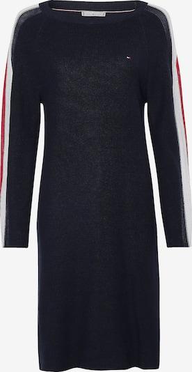 TOMMY HILFIGER Kleid in navy / rot / weiß, Produktansicht