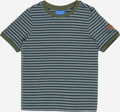 FINKID Tričko 'RENKAAT' - námornícka modrá / olivová / mätová, Produkt