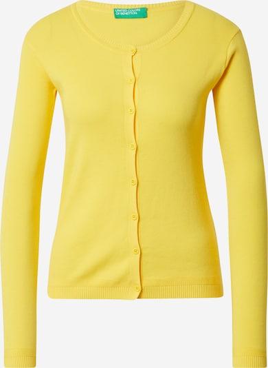 UNITED COLORS OF BENETTON Cárdigan en amarillo, Vista del producto