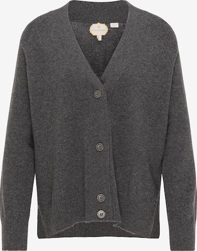 DreiMaster PREMIUM Knit cardigan in Dark grey, Item view