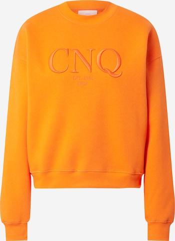 Sweat-shirt 'CIESTA' CINQUE en orange