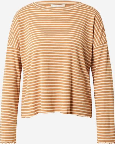 TOM TAILOR DENIM Shirt in sand / naturweiß, Produktansicht