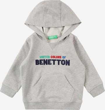 UNITED COLORS OF BENETTON Sweatshirt in Grey