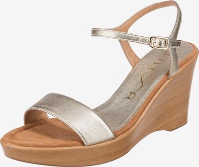 UNISA Sandalette 'Rita' in gold, Produktansicht