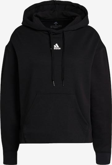 ADIDAS PERFORMANCE Athletic Sweatshirt in Black / White, Item view