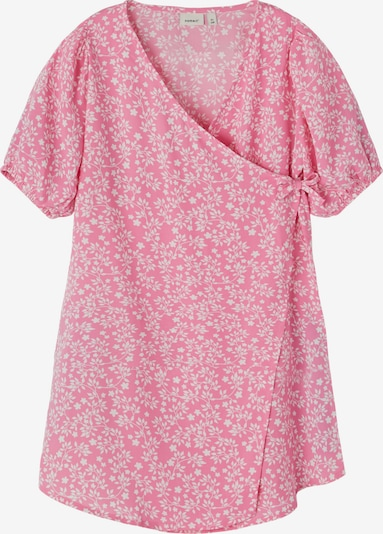 NAME IT Robe 'Jidde' en rose clair / blanc, Vue avec produit