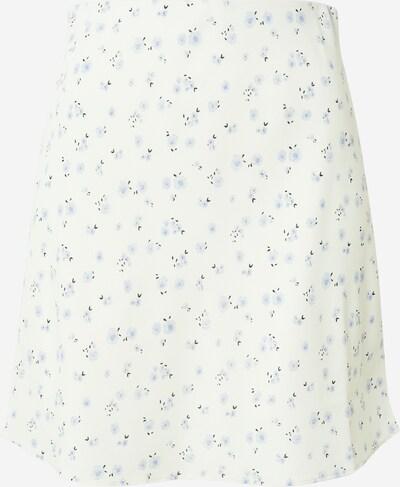 Neo Noir Jupe 'Lunna' en bleu clair / vert foncé / blanc, Vue avec produit