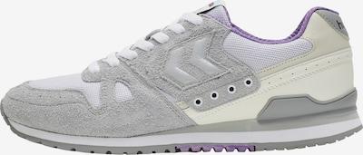Hummel Sneaker in grau / lila / weiß, Produktansicht