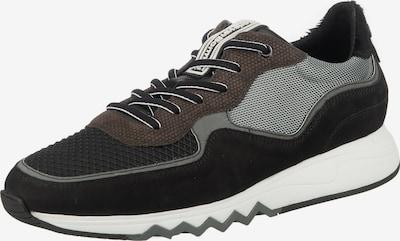 Floris van Bommel Sneaker 'Nineti' in braun / grau / schwarz, Produktansicht