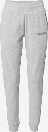 Hummel Pantalon de sport en gris, Vue avec produit
