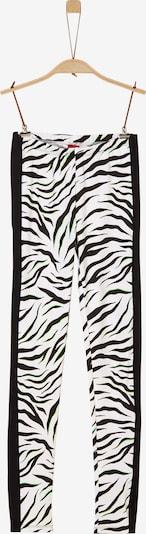 s.Oliver Leggings in schwarz / weiß, Produktansicht