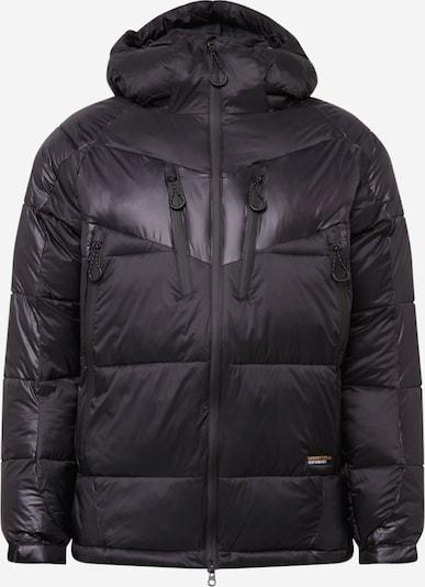 Superdry Snow Outdoorjas in de kleur Zwart, Productweergave