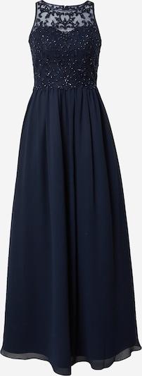 Laona Robe de soirée en bleu foncé, Vue avec produit