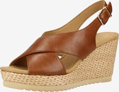 GABOR Sandale in braun, Produktansicht